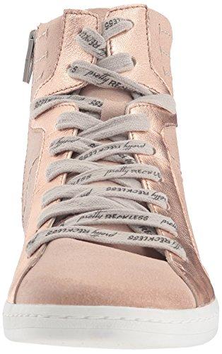 Dolce Vita Womens Natty Sneaker Blush Scamosciato