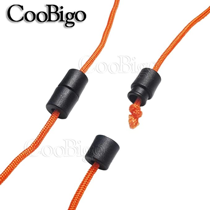 100 Lanyard Ends Cord Safety Breakaway Barrel Connectors for DIY Craft Making US