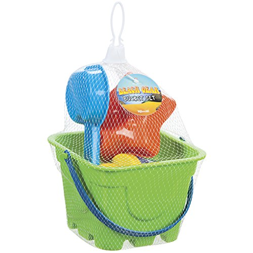 Four Piece Sand Bucket Set (Color/Style May Vary) -