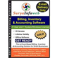 GST Accounting Software by SuryaInfoWeb (Gold)