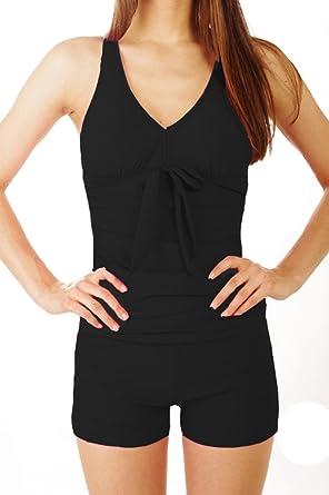 maillot de bain boxer femme une piece. Black Bedroom Furniture Sets. Home Design Ideas