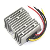 DROK 20A/240W High Current Non-isolated Buck Voltage Converter Regulator Waterproof DC-DC 17-35V 24V to 12V Step-down Power Supply