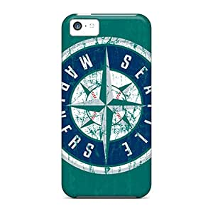 New Shockproof Protection Case Cover For Iphone 5c/ Seattle Mariners Case Cover