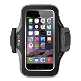 Belkin Slim-Fit Plus Armband for iPhone 6 / 6s, Fitbit Alta, Fitbit Blaze and Fitbit Charge HR (Black/Gray)