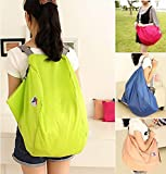 sholdnut 3-Way Folding Nylon Crossbody Travel Shoulder Storage Bag Handbag Backpack Large Capacity Luggage Bags