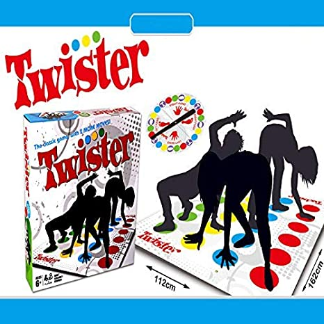 Funny Kids Body Twister Moves Mat Board Family Party Game Group Outdoor Sports