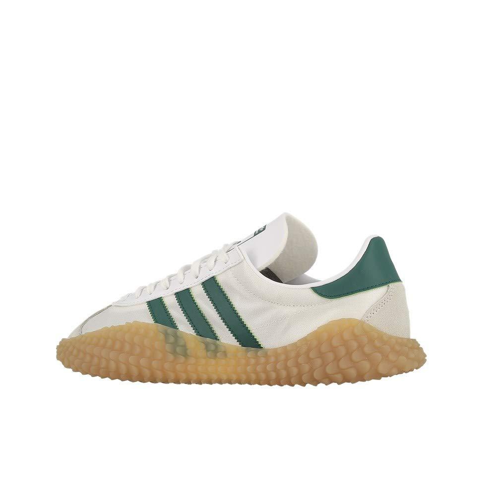 brand new 4d3a6 e087f adidas Originals Country X Kamanda Never Made, Cloud White-Green-Gum, 11,  5 Amazon.co.uk Shoes  Bags
