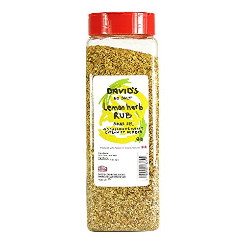 Lemon Herb Rub 520g Davids