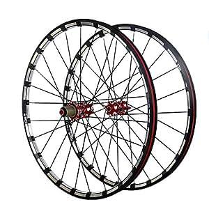 Gimitunus 26 Pulgadas de Fibra de Carbono de MTB Bicicleta de montaña Conjunto de Ruedas Ultra Llantas de aleación llanta de Carbono Ruedas Llantas de ...