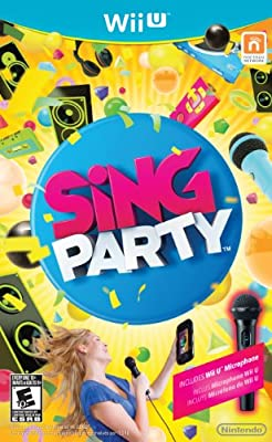Sing Party With Wii U Microphone by Nintendo