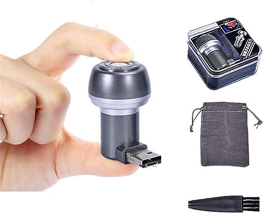 Maquinilla de afeitar rotativa eléctrica portátil MXYY, maquinilla ...