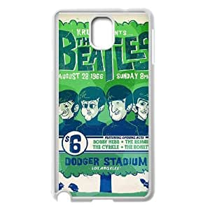 The Beatles Image On The Samsung Galaxy Note 3 White Cell Phone Case AMW897905