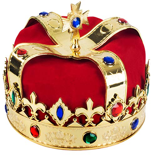 (Royal Jeweled King's Crown - Costume)