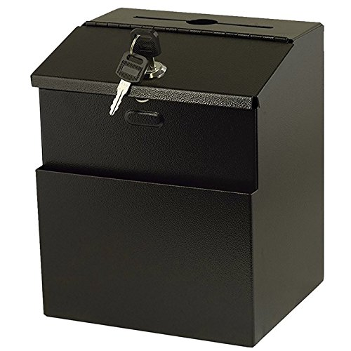 iBoost Suggestion Box with Mounting Hardware (Lock, 2 Keys) by iBoost