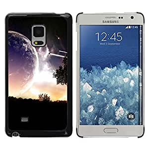 Be Good Phone Accessory // Dura Cáscara cubierta Protectora Caso Carcasa Funda de Protección para Samsung Galaxy Mega 5.8 9150 9152 // Sci Fi Romantic Planet