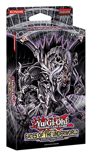 Yu-Gi-Oh! Gates of The Underworld Structure Deck + 1 Ultra Rare Card + 2 Super Rare Cards + 1 Game Mat