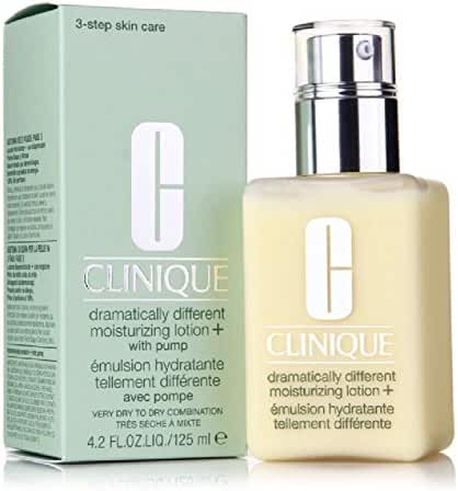 Clinique Dramatically Different Moisturizing Lotion+ with Pump Very Dry to Dry Combination Skin 4.2 oz / 125 ml