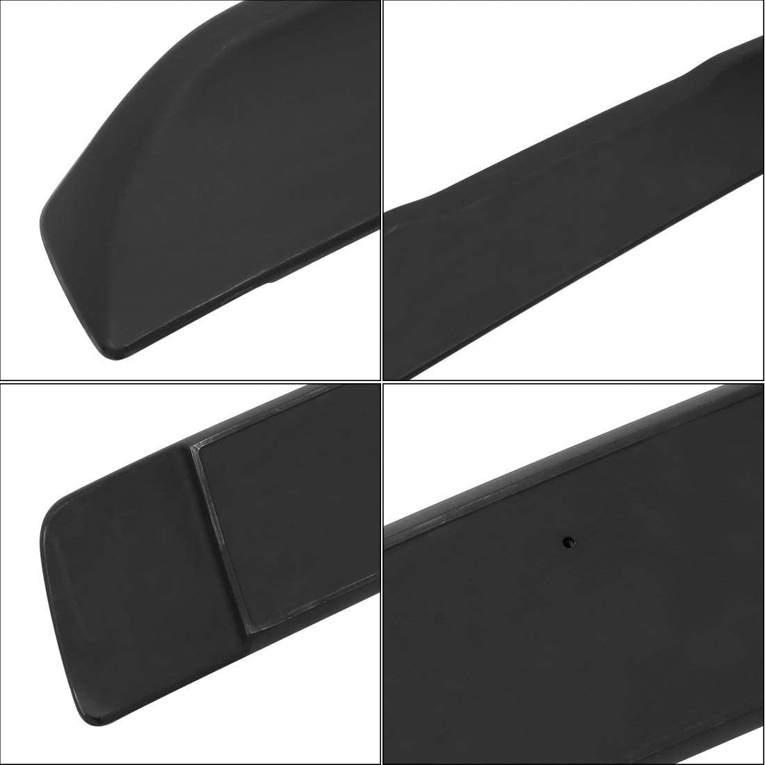 X AUTOHAUX Car Primer Black ABS Rear Trunk Lip Spoiler Wing for Dodge Challenger 2008-2018
