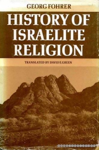 History of Israelite Religion