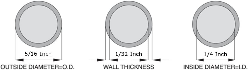 3//8 ID x 9//16 OD Silicone Tubing 25 Feet