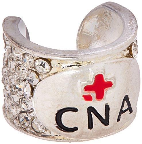 Cherokee Womens Crystal Stethoscope Charm