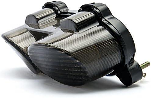 ZX600 Krator Smoke LED Tail Light Integrated with Turn Signals For 2000-2002 Kawasaki Ninja ZX-6R