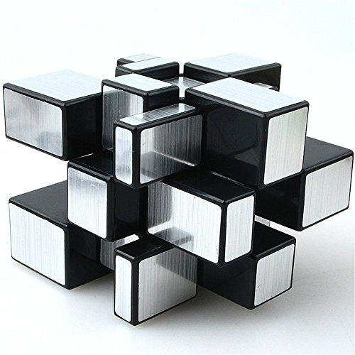 AHYUAN Dysmorphism 3x3x3 Mirror Magic Cube Speed Silver 3D Puzzle supplier