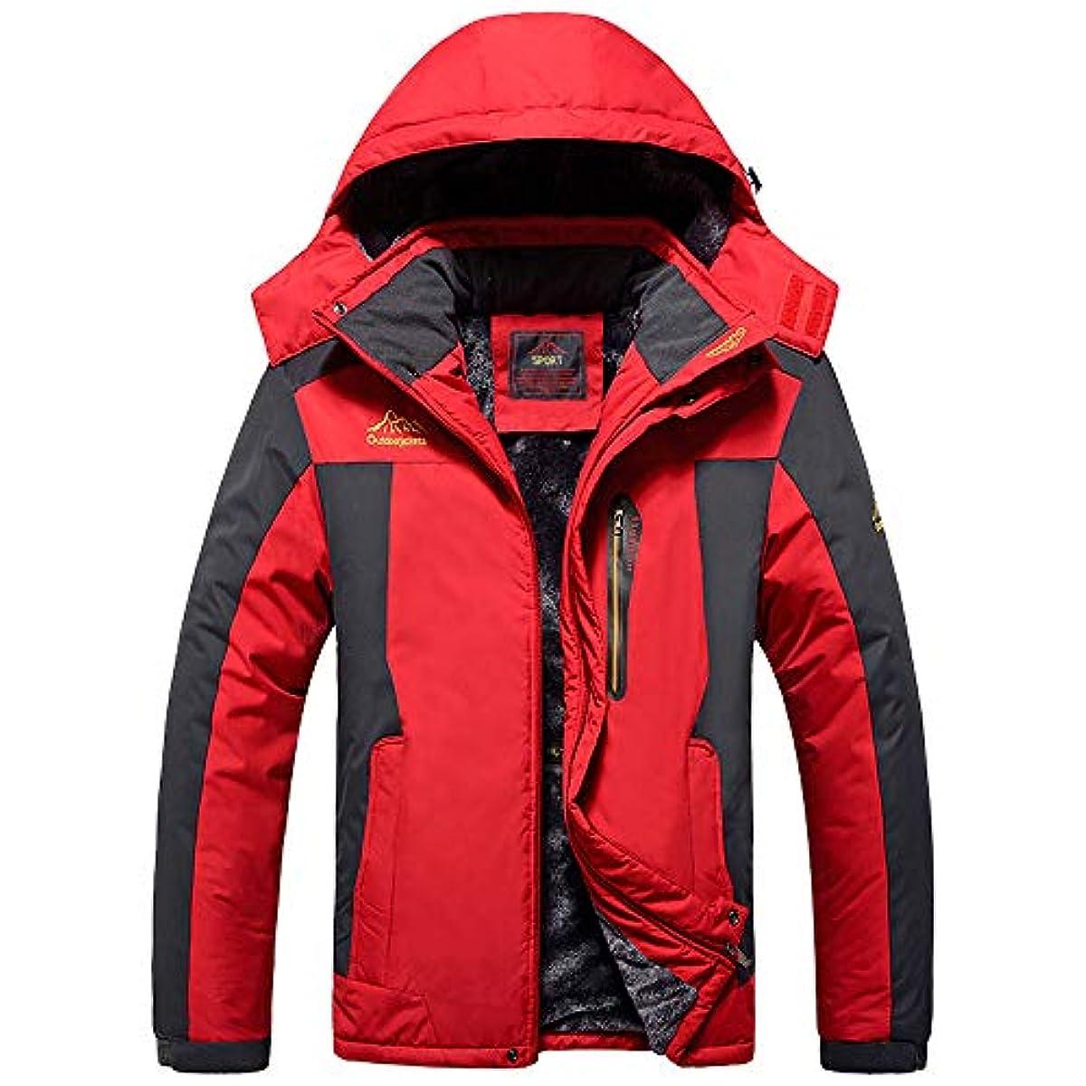 [해외] YSENTO 추동 맨즈 방한착 마운틴 파카 기모안감방발수 스키 등산 재킷 후드부 탈착식 4 색전개