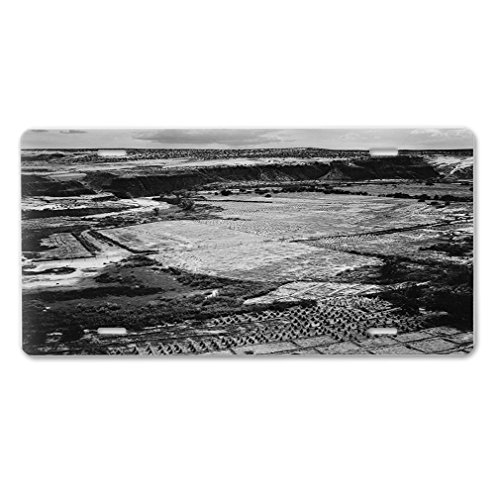 Style in Print Corn Field Tuba City Az 1941 (Adams) Car Aluminum License Plate Adams Field Frame