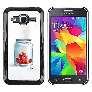 Stuss Case / Funda Carcasa protectora - Heart Brake Love Toxic Chemicals Romance - Samsung Galaxy Core Prime SM-G360