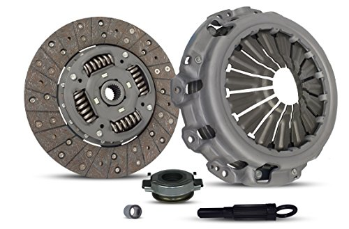 Clutch Kit Works With Nissan Altima Maxima S Se Se-R Sl Gle Glx Luxury Touring Elite Sedan 4-Door 2002-2006 3.5L V6 GAS DOHC Naturally -
