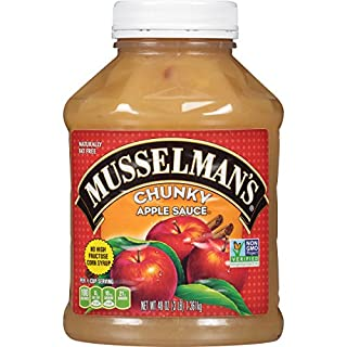 Musselman's Chunky Apple Sauce, 48 Ounce (Pack of 8)
