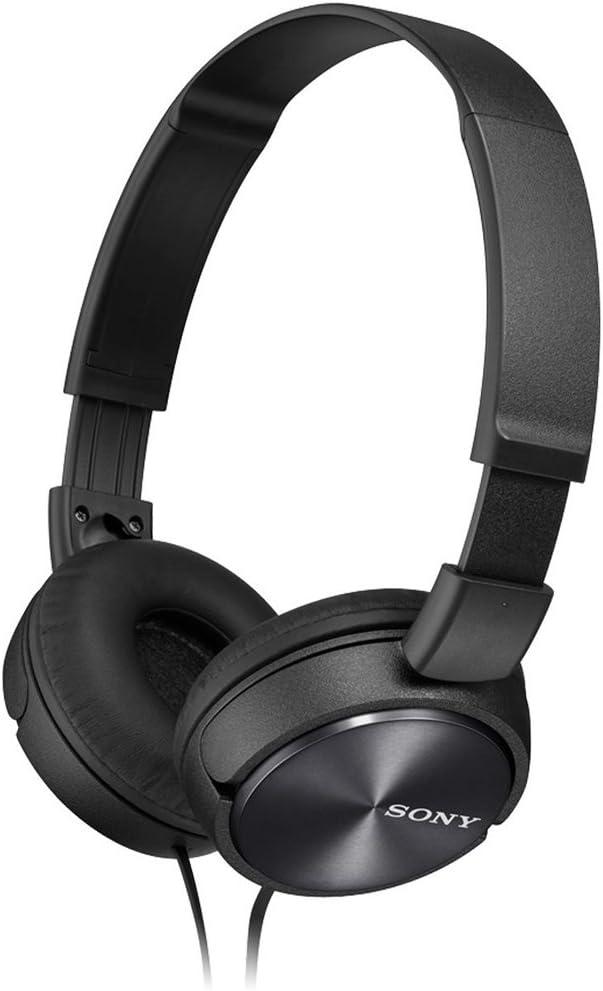 Sony MDRZX310 Foldable Headphones - Metallic Black: Amazon.co.uk: Electronics