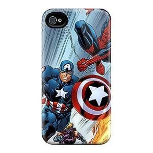 PamelaSmith Iphone 4/4s Shock Absorption Hard Cell-phone Cases Customized Beautiful Cartoon Movie 2014 Image [vPP14870lmmC]