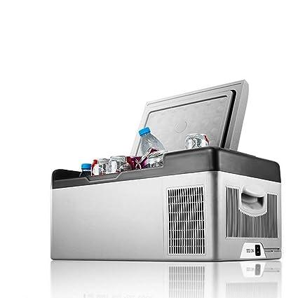 Amazon.es: HDZWW Refrigerador del automóvil Pequeño refrigerador ...
