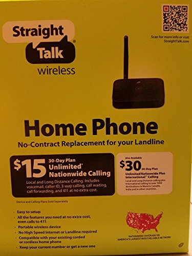 Straight Wireless No Contract Replacement Landline