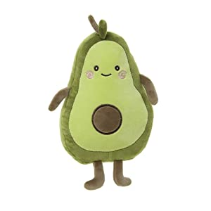 Niuniu Daddy 12 inch Avocado Food Plush Toys Shaped Fruit Series Cute Kawaii Stuffed Soft Pillow