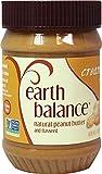 EARTH BALANCE Creamy Peanut Butter - 16 OZ - CS x12