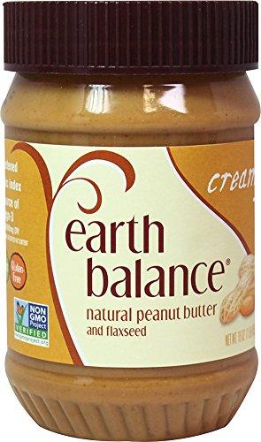 EARTH BALANCE Creamy Peanut Butter - 16 OZ - CS x12 by Earth's Balance