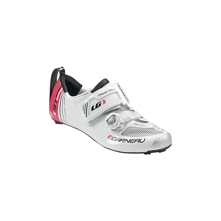 Louis Garneau 2015 Women Tri 400 Cycling Shoes White All Size