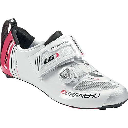 Louis Garneau 2015 Women Tri 400 Cycling Shoes White All Size