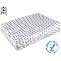 Ana Baby Premium Organic Changing Pad Cover For Baby Boys & Girls–SOFT 100% W...