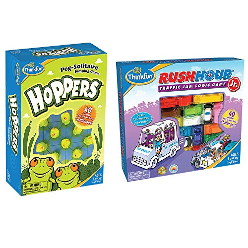 Think Fun 5043 Rush Hour Jr. Hoppers Bundle, Multi]()