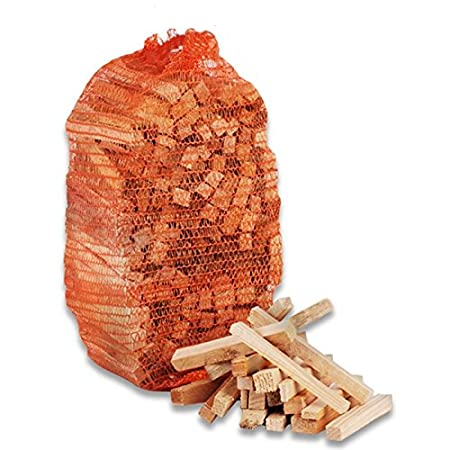 Natural Wooden Kindling Fire Starting Open Fires, Stoves, BBQ, Fire Pits, Home Fires, Wood Sticks, Camp Fires & Ovens (1.5KG) Logs
