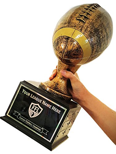 Personalized 18 Year Fantasy Football Trophy - Click to Customize! -
