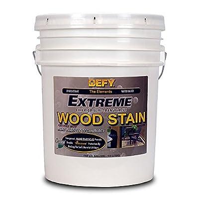 DEFY Extreme Wood Stain Cedar Tone 5gal by Defy