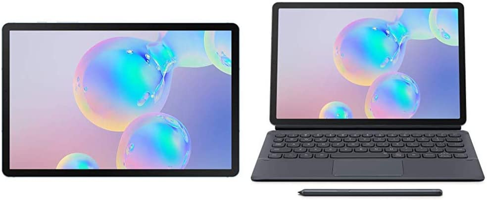 "Tab S6 10.5"", 128GB WiFi Tablet Cloud Blue - SM-T860NZBAXAR + Keyboard Case"