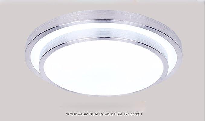 Plafoniere Da Soffitto Rotonde : Swent lampada da tavolo in alluminio a soffitto lampade