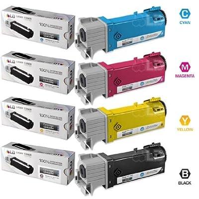 LD Compatible Dell 1320 / 1320c Toner Cartridges: Black KU052, Cyan KU053, Magenta KU055, & Yellow KU054