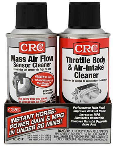 CRC MAF & Throttle Body Single-Use Twin Pack, 1 Kit (Valve Twin)